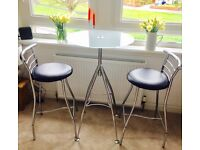 Bar Table & two matching chairs - from John Lewis