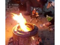 Washing machine firepit
