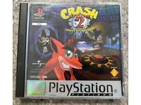 PlayStation 1 Crash Bandicoot Game