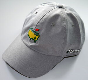 2018 MASTERS (GREY) PERFORMANCE SLOUCH Golf HAT from AUGUSTA NATIONAL