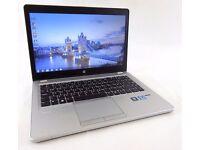 HP Ultrabook Folio 9470m, CORE i5 VPro, 8gig Ram, 180gig Solid State HD, Windows 10 Pro