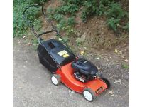 Champion Lawnmower with Briggs and Stratton Engine Good Condition