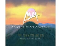 2 x meadows in the mountains festival tickets Bulgaria