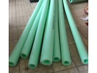 New extra long lengths 2 metre long 15 mm insulation/ lagging