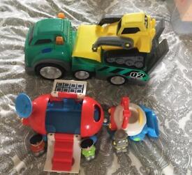 ELC Space set & truck/bulldozer