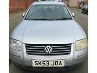 2003 VW Passat Se 2.0 Petrol. Spares or Repairs.