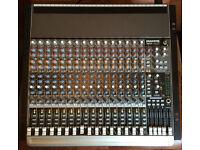 """Mackie 1604-VLZ3 16 Channel 19"""" Rackmount Mixer w/rotopod"""