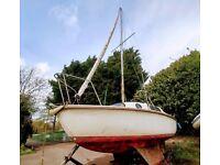 Sailing boat Leisure 17.