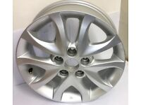 "GENUINE HYUNDAI I30 16"" ALLOY WHEEL 529102L200 X1 ONLY 52910-2L200"
