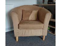 Tub Chair with Cushion.