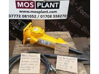 Hydraulic breaker pecker rock hammer for any size digger, micro, mini, midi, new, used, refurbuished