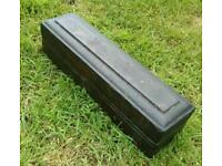 Oilstone in mahogany case