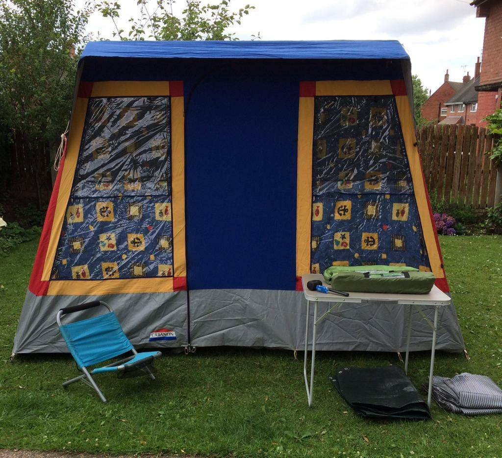 Cabanon chambord 5 man family tent vintage 80s cool & Cabanon chambord 5 man family tent vintage 80s cool | in South ...