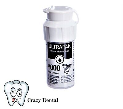 Ultradent Ultrapak Size 000 Gingival Retraction Cord 137