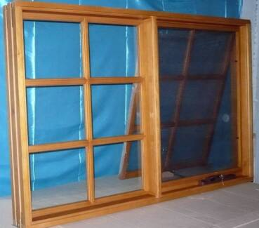 COLONIAL AWNING WINDOWS, SOLID CEDAR TIMBER, 1690X940H, NEW Vineyard Hawkesbury Area Preview