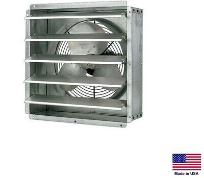 Exhaust Fan Commercial - Direct Drive - 12 - 16 Hp - 115v - 1 Spd - 1580 Cfm
