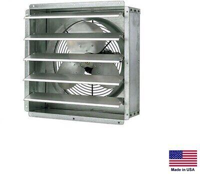 Exhaust Fan Commercial - Direct Drive - 12 - 16 Hp - 115v - 1 Spd - 1580 Cfm