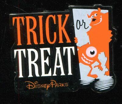 Halloween 2015 Trick or Treat with Mike and Sulley Disney Pin 110847 (Trick Or Treat Halloween Disney)
