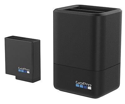 GoPro Dual-Ladegerät für 2 Akkus inkl. 1 Akku AADBD-001 für Hero 5