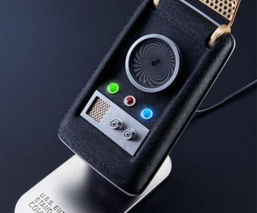 THE WAND COMPANY Star Trek TOS Bluetooth Communicator Prop Replica - NEW!!!