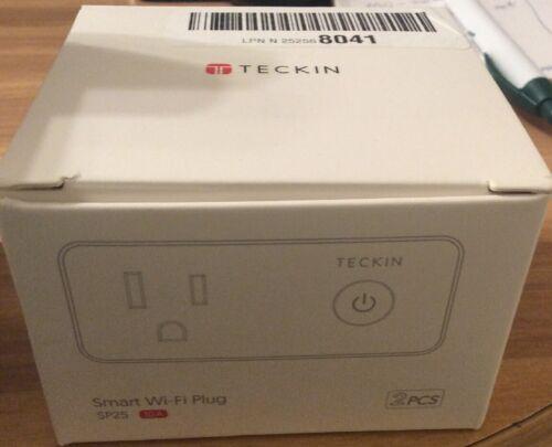 Smart Wi-Fi Plug with USB Port(2 Pack),Travel Wireless Mini Smart Socket