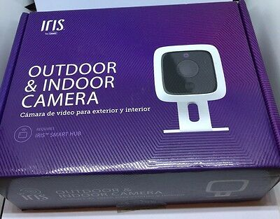 Iris Business Home Wifi Outdoor/Indoor Security Camera Night Vision 782305