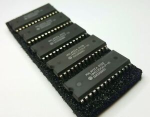 Lot of 5 HM62256 32K x 8 Static RAM SRAM DIP-28