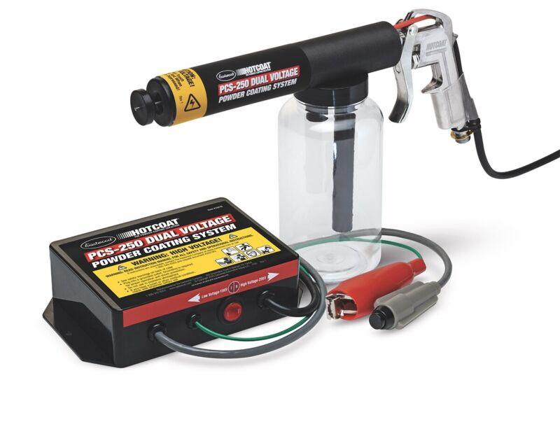 Hotcoat PCS-250 Economical Dual Voltage Powder Coating Gun Standard 120v 60 Hz