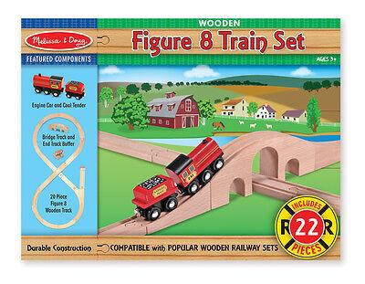 Melissa & Doug Figure 8 Train Set #703 BRAND NEW