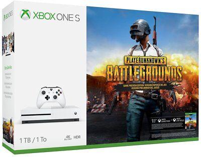 Xbox One S 1TB PlayerUnknown's Battlegrounds Bundle