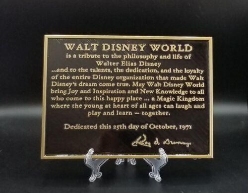 Disney World Dedication Plaque Replica Inspired Sign - ( Home Decor Inspired )