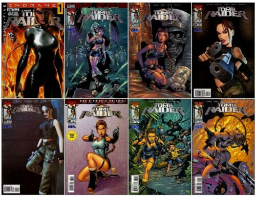 TOMB RAIDER #25 26 27 28 29 30 31 32 LARA CROFT SET IMAGE TOP COW COMIC BOOKS 1