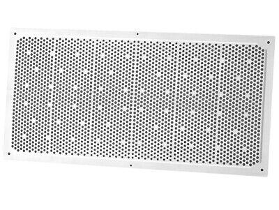 Duraflo 641608 Plastic White Soffit Vent 16 X 8