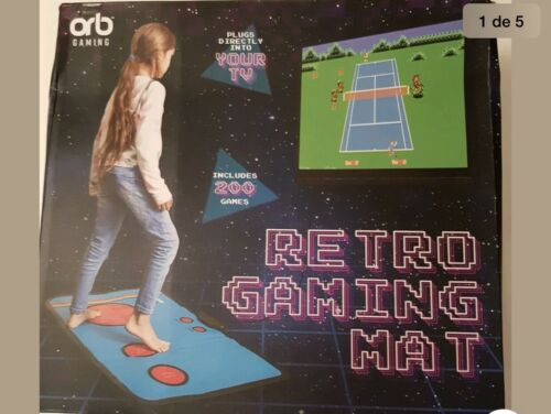 orb retro gaming Mat New Never Used