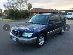 Subaru Forester auto 4 months rego