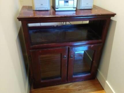 Wooden cabinet Carlton Melbourne City Preview