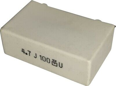 Mallory Metallized Polyester Capacitor 4.7uf 100v