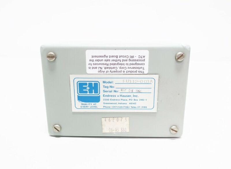 Endress Hauser EU112-001A Preamplifier Module