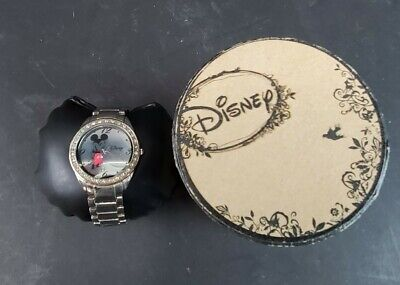 Vintage Stainless Steel Disney Mickey Mouse Watch