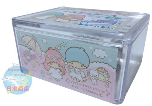 NEW! SANRIO Little Twin Stars KAWAII Square Pile Up Case S SINGLE ITEM JAPAN