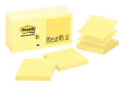 Post-it Pop-up 3x3 Sticky Notes Refills For Dispenser 12 Pads 90 Sheetspad