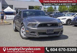 2014 Ford Mustang V6 <B>*LOCAL BC  *NO ACCIDENTS </B>
