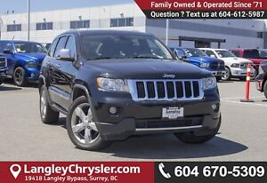 2011 Jeep Grand Cherokee Limited <B>*LOCAL BC  *NO ACCIDENTS...