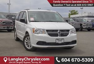 2017 Dodge Grand Caravan CVP/SXT <B>*LOCAL BC  *NO ACCIDENTS...