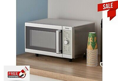 Galaxy 1000 Watt Commercial Office Microwave Oven With Dial Controls Countertop