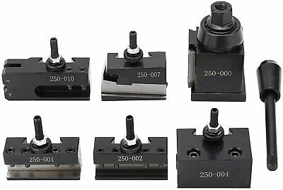 0xa Wedge Type Quick Change Tool Post Set For Mini Lathe Up To 6-9 Inch Swing