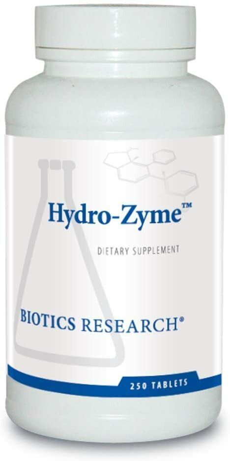 Biotics Research Hydro Zyme 250 Tablets  FAST SHIPPING