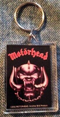 MOTORHEAD KEYCHAIN - LEMMY - Ace Of Spades War Pig Overkill Heavy Metal Rock !