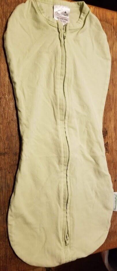 K Green Swaddle Pod Size Newborn - $1.99