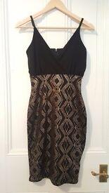 Sequin Mini Black Dresses New Look, size 8